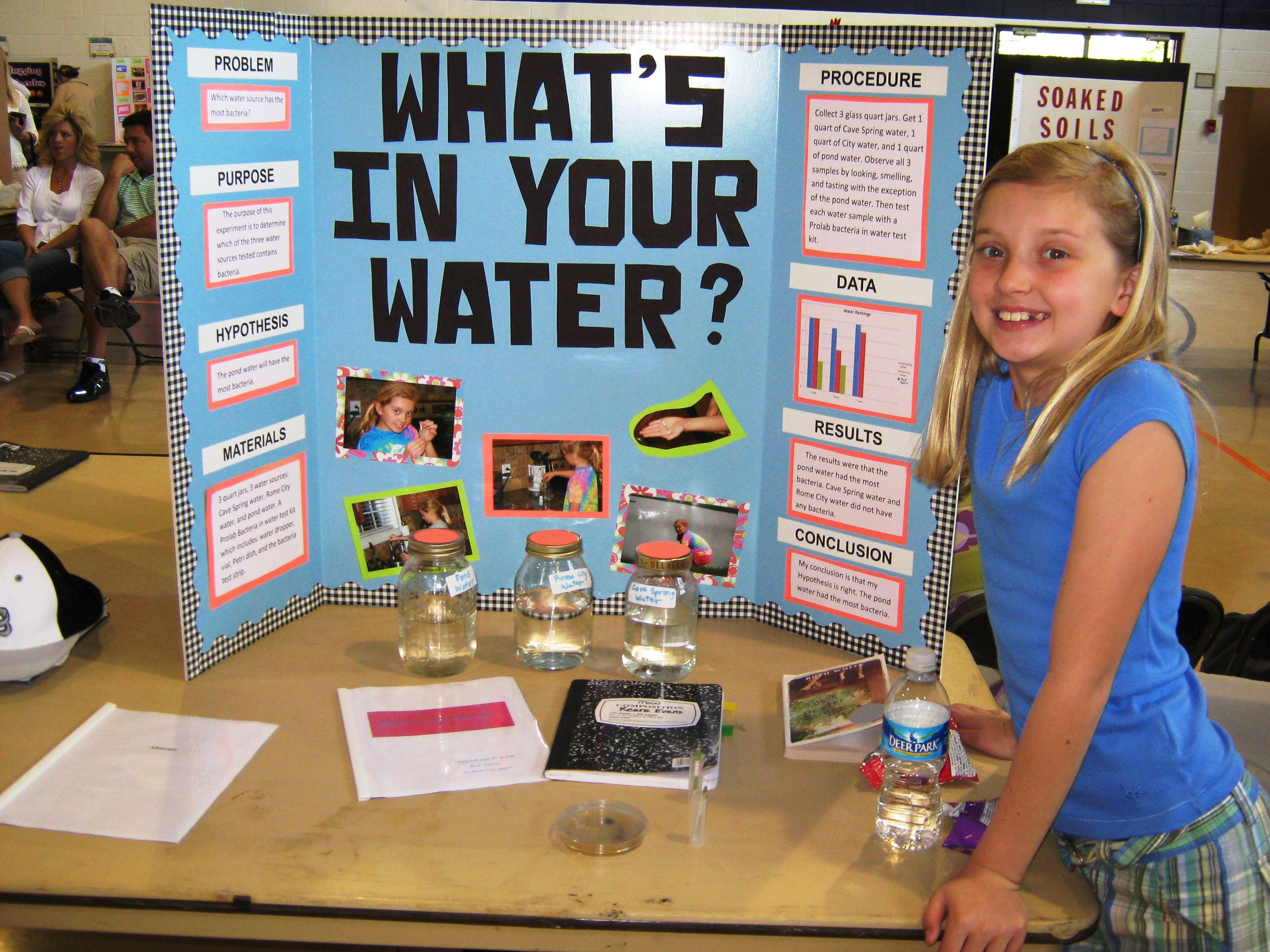 Darlington School Fifth Grade Science Fair