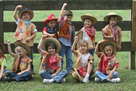 Darlington School: Yee Haw! PK enjoyed Cowboy Day!