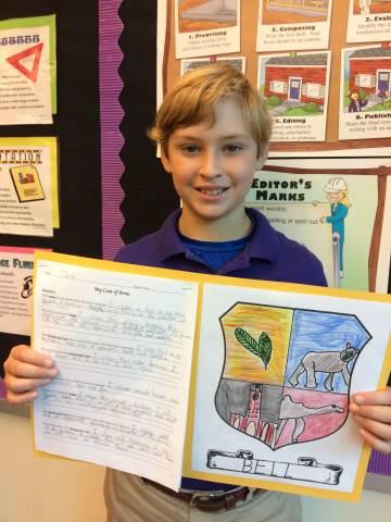 Darlington School: 5th Grade Coat of Arms