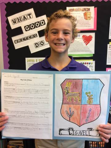 Darlington School: 5th Grade Coat of Arms