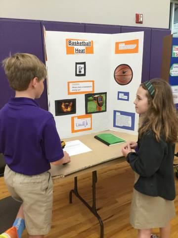 Darlington School 3rd Grade Visits Science Fair
