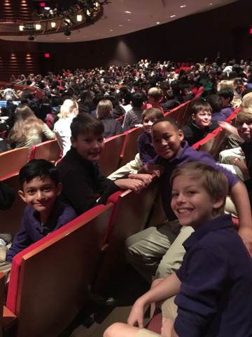 fifth graders enjoyed a trip to see charles dickens a christmas carol at the alliance theater in atlanta after the play the students enjoyed a