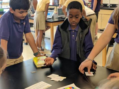 Darlington School: 6th Grade Science Creates Board Games